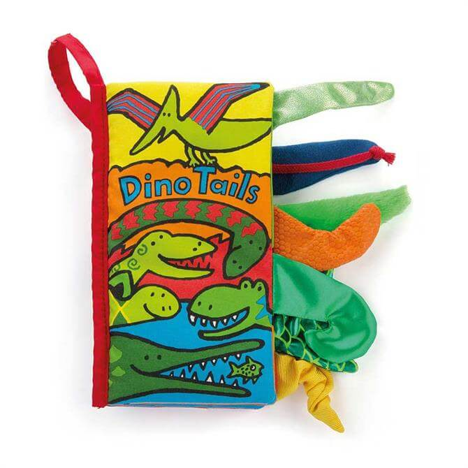 Jellycat Dino Tails Book