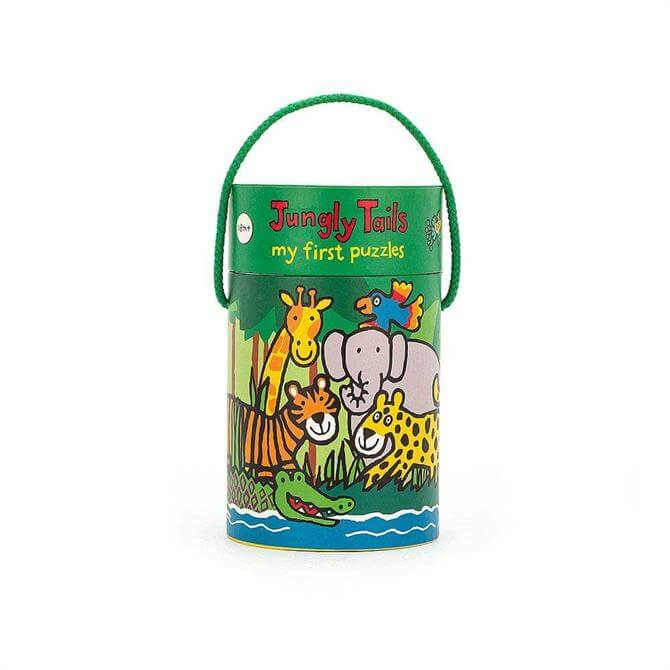 Jellycat Jungly Tails Puzzles