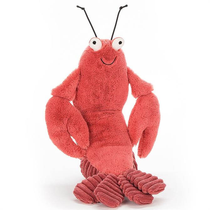 Jellycat Long Hair Larry Lobster