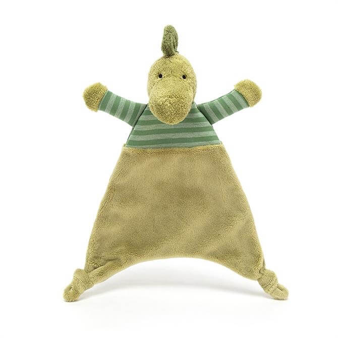 Jellycat Stripey Dinosaur Soother