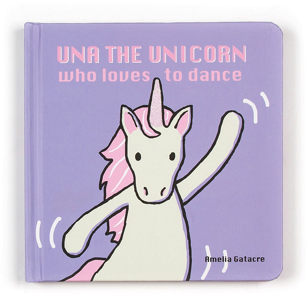 An image of Jellycat Una The Unicorn Who Loves To Dance
