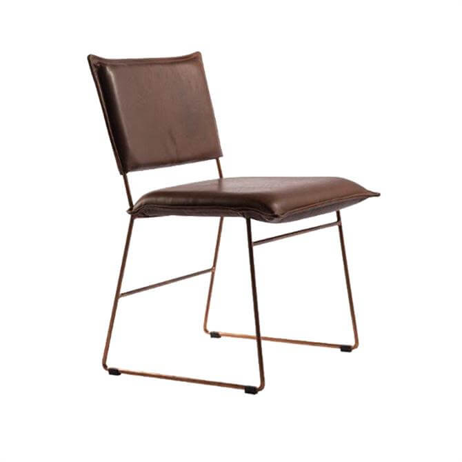 Karlek Dining Chair Without Arms In Grade 3 Leather