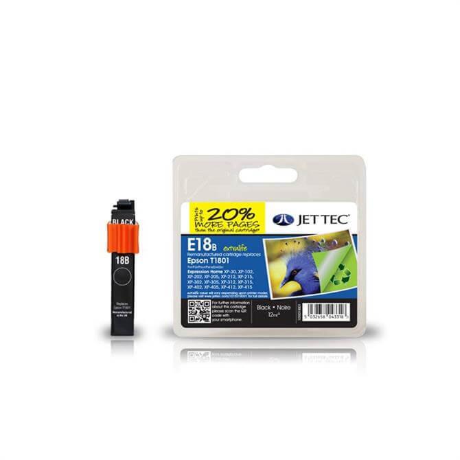 Epson T1801 Black Remanufactured