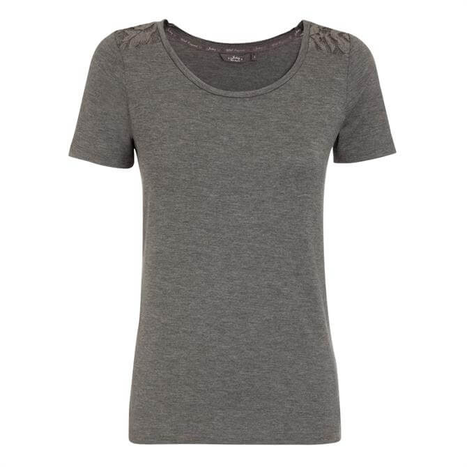 Jockey Supersoft Lace Shoulder Lounge T-Shirt