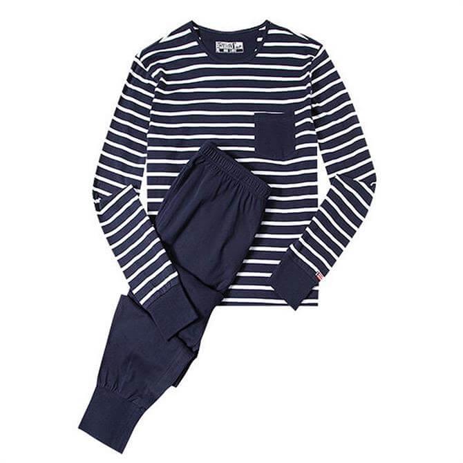 Jockey Contrast Stripe PJ Set
