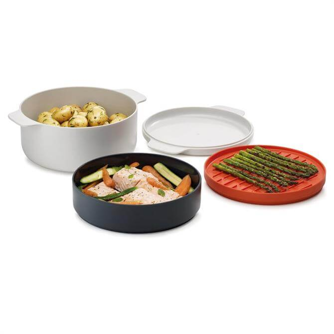 Joseph Joseph M-Cuisine 4 Stack Microwave Cooking Set