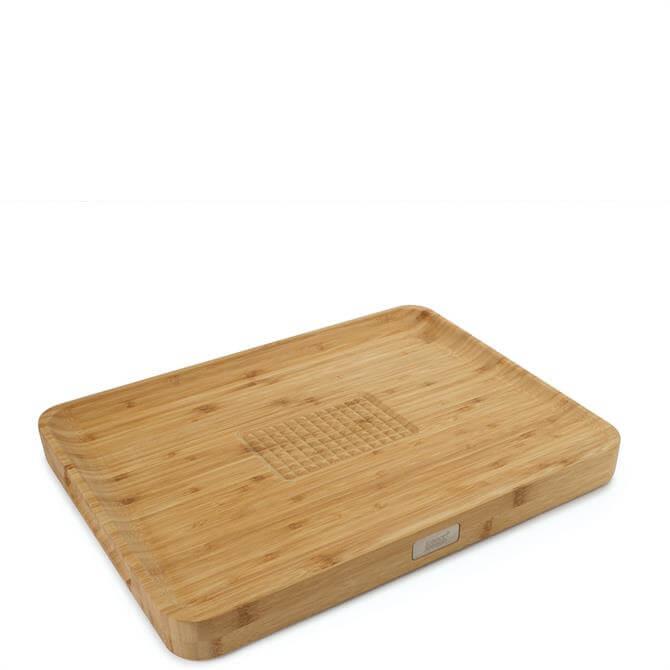 Joseph Joseph Cut&Carve� Bamboo Multi-Function Chopping Board
