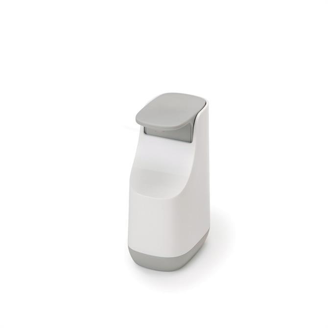 Joseph Joseph Slim™ Grey & White Compact Soap Dispenser