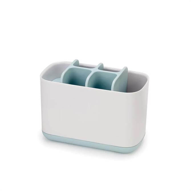 Joseph Joseph EasyStore™ Blue & White Large Toothbrush Caddy