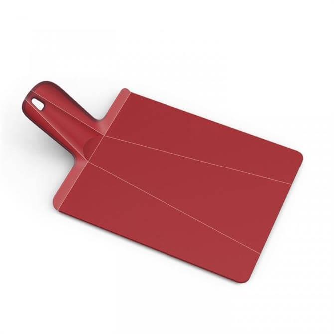 Joseph Joseph Chop2Pot Plus Small Folding Chopping Board: Red
