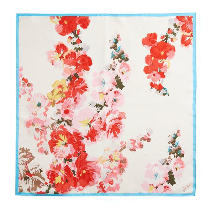 Joules Bloomfielf Silk Scarf