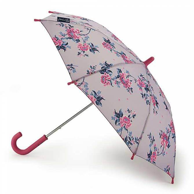 Joules by Fulton Junior-4 Botany Chinoise Floral Lilac Umbrella