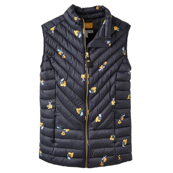 Joules Brindley Quilted Pattern Gilet