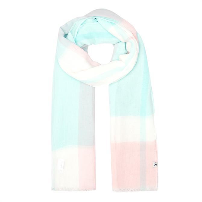 Joules Talia Lightweight Cotton Scarf