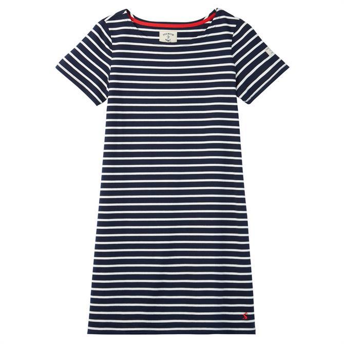 Joules Riviera Jersey Striped Dress