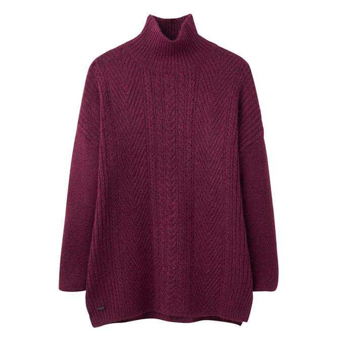 Joules Fallon Warm Cable Jumper