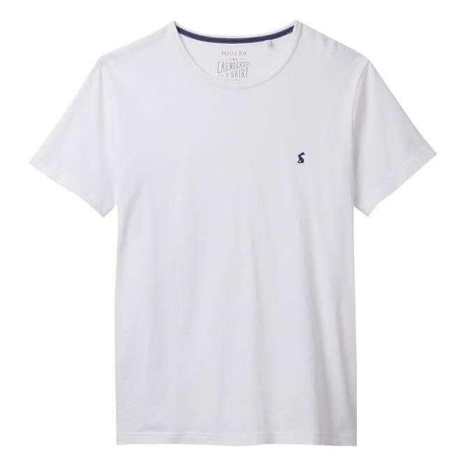 Joules Laundered Plain Crew Neck T-Shirt