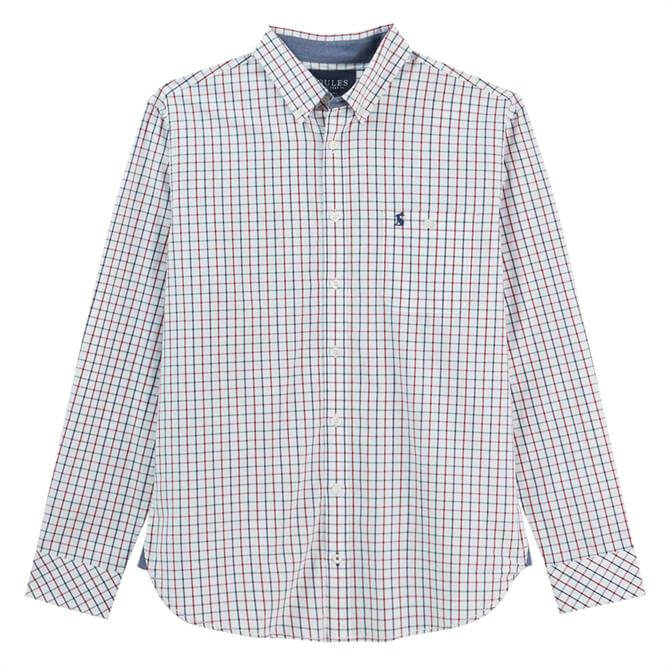 Joules Abbott Peached Poplin Shirt