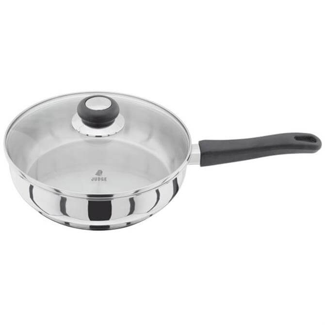 Judge Vista Saute Pan With Glass Lid