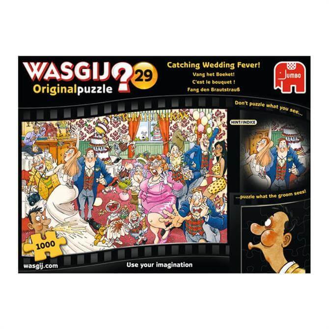 Wasgij Original 29 Catching Wedding Fever 1000pc Jigsaw Puzzle