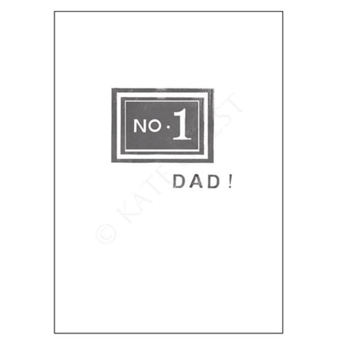 Kate Guest No 1 Dad Card