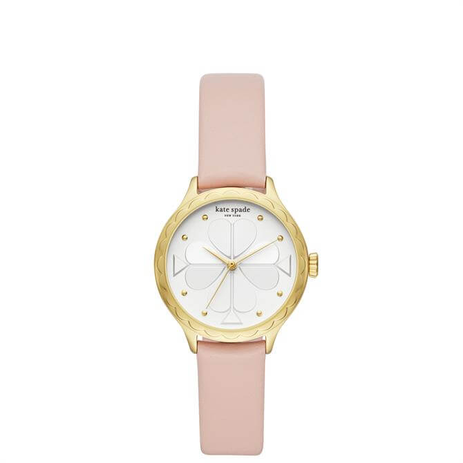 Kate Spade New York Rosebank Blush Leather Watch