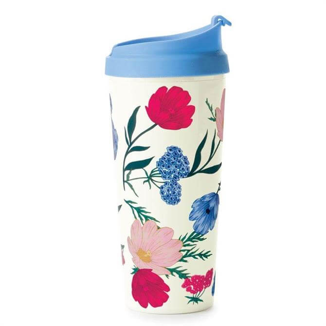 Kate Spade Floral Thermal Travel Mug
