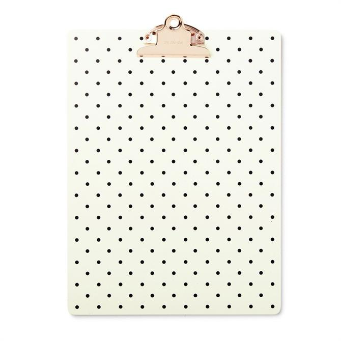 Kate Spade On The Dot Clipboard