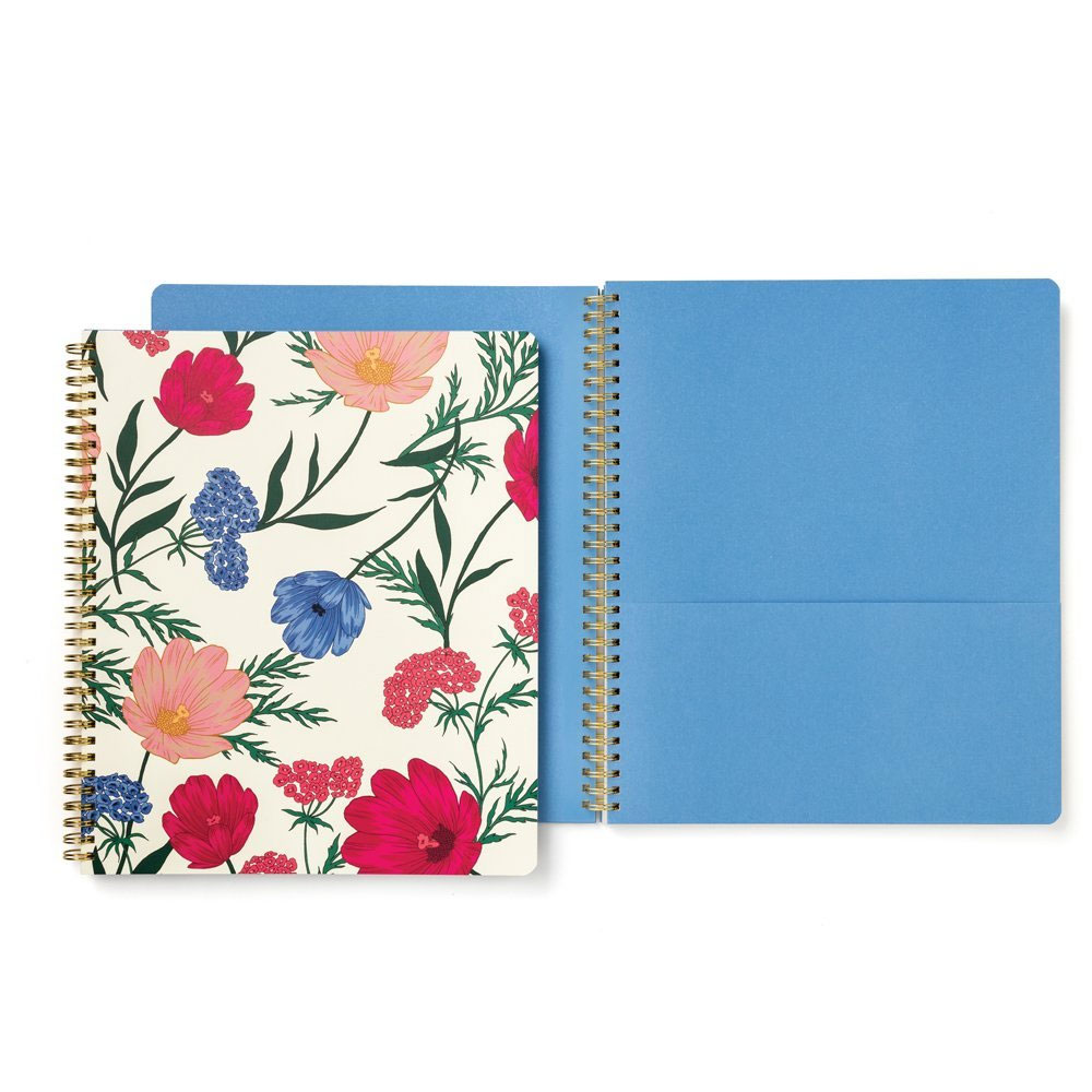 An image of Kate Spade New York Large Spiral Notebook - BLOSSOM