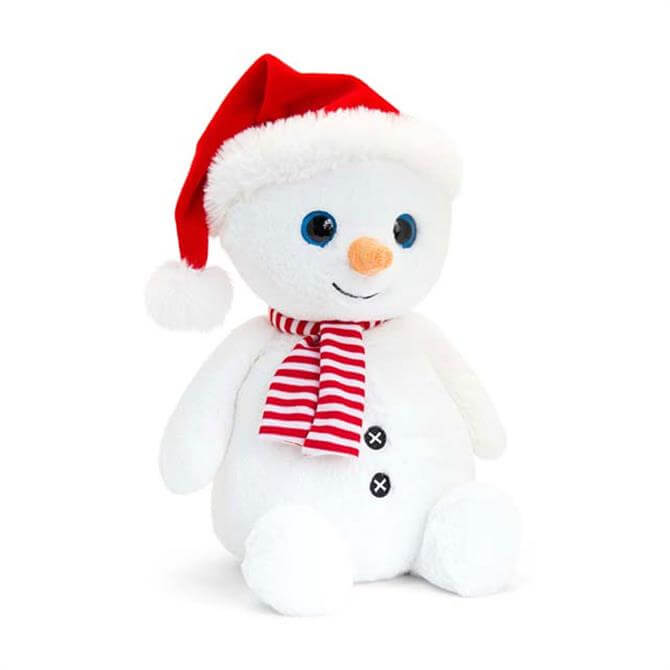 Keel Snowman With Hat and Scarf 20cm