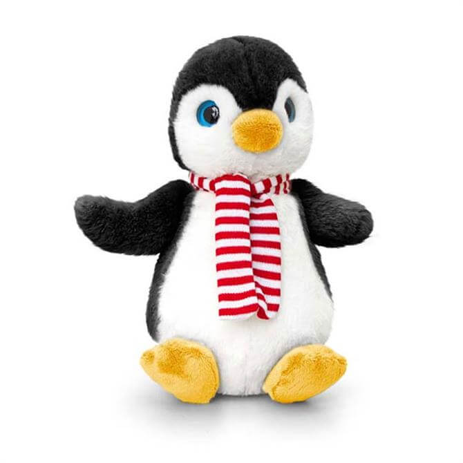 Keel Christmas Penguin with Scarf 25cm