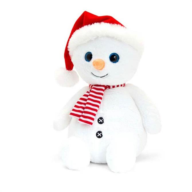 Keel 25cm Snowman with Hat & Scarf