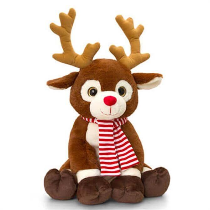 Keel 25cm Reindeer With Scarf