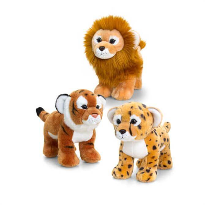 Keel Jungle Cat With Sound Lion Tiger Cheetah Assorted