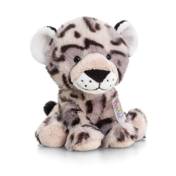 Keel Pippins Snow Leopard 14 cms