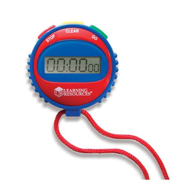 Learning Resources Primary Science Simple Stopwatch