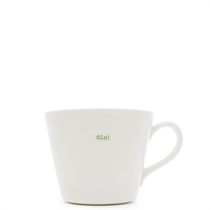 Keith Brymer Jones Gin White Bucket Mug