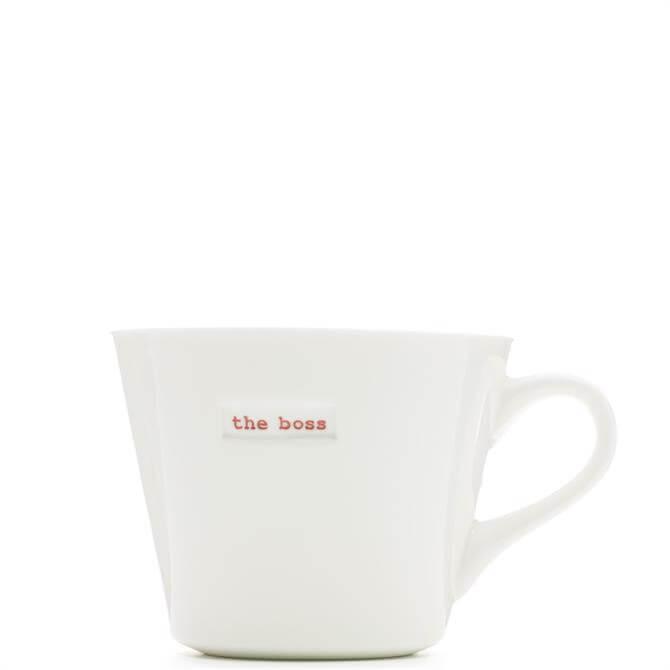 Keith Brymer Jones The Boss White Bucket Mug