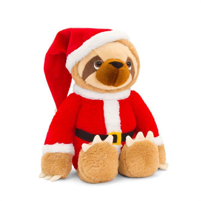 Keel 25cm Sloth Santa Outfit