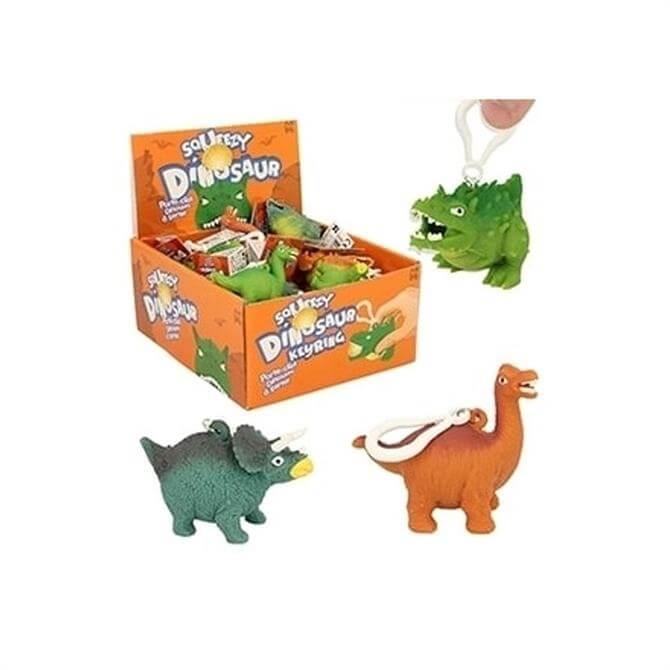 Keycraft Squeezy Dino Keyring
