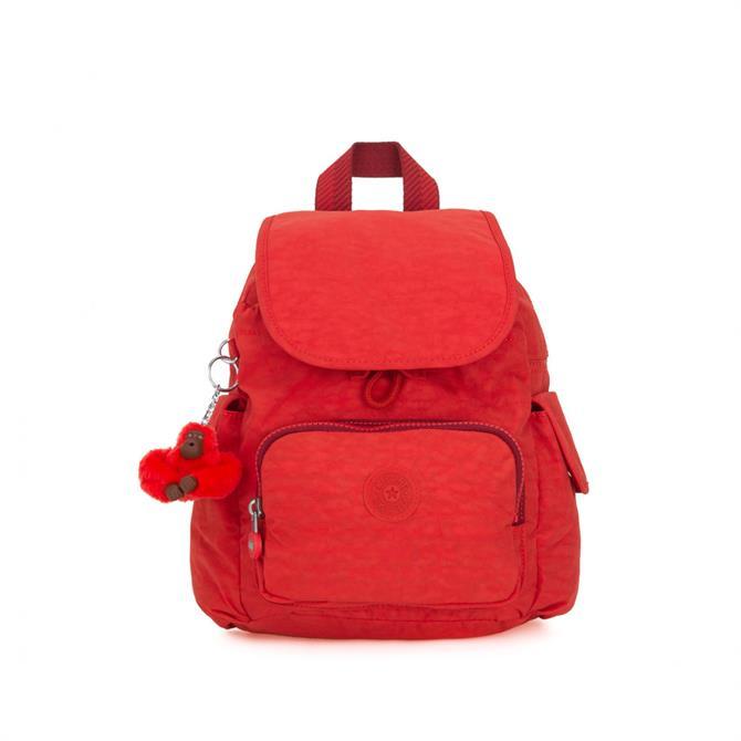 Kipling City Mini Pack Backpack - Active Red