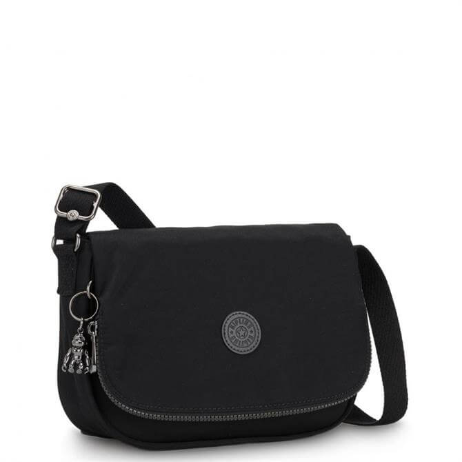 Kipling Earthbeat S Rich Black Small Cross Body Shoulder Bag