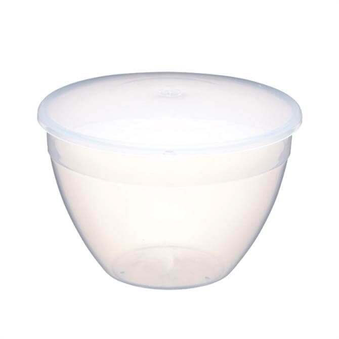 Kitchen Craft Plastic 1.1 Ltr Pudding Basin and Lid