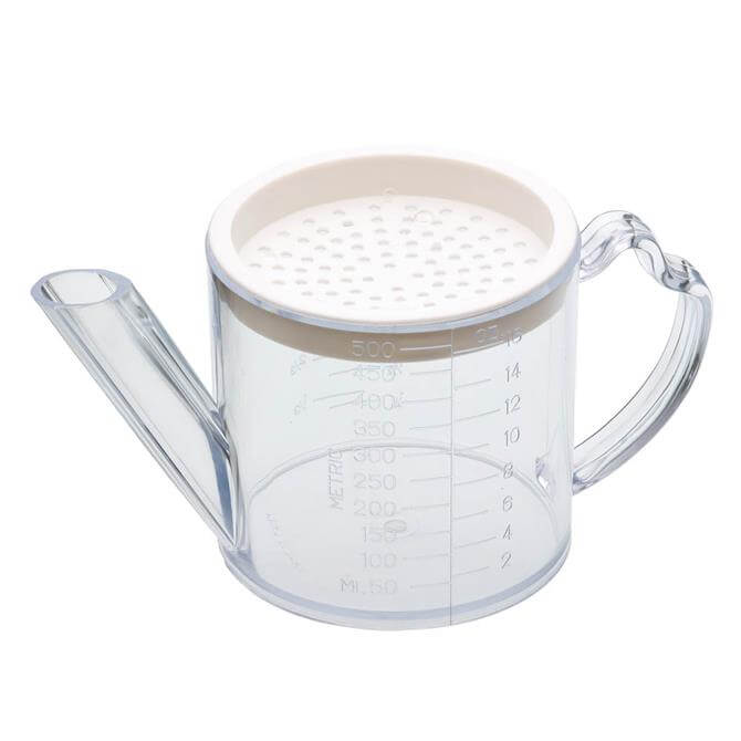 Kitchen Craft 500ml Gravy and Fat Separator and Measuring Jug