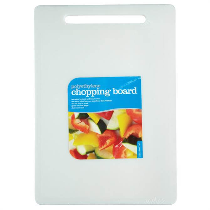 Kitchen Craft Polyethylene Chopping Board 35cm X 25cm
