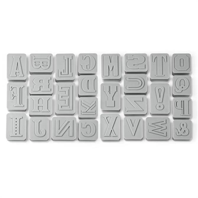 Fred Letter Pressed Cookie Cutters