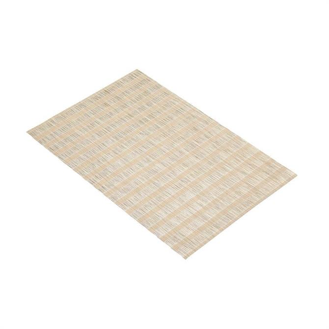 KitchenCraft Woven Placemat: Brown Stripe