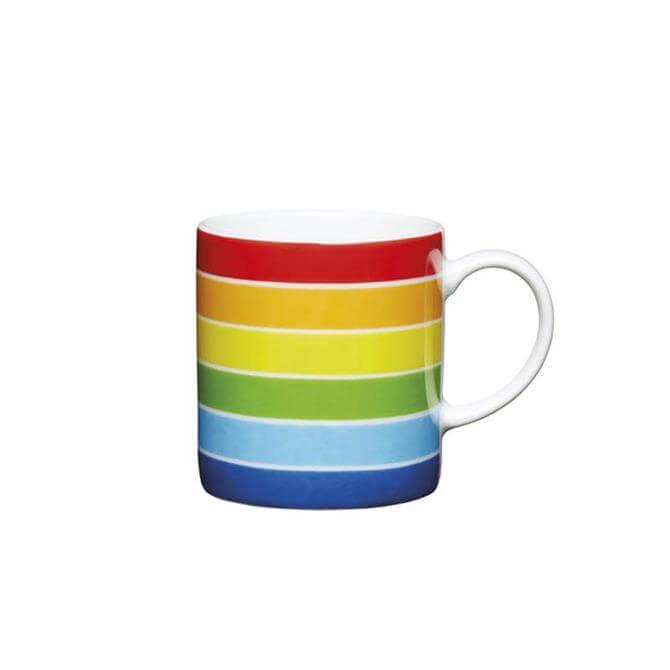 Kitchen Craft Porcelain Rainbow 80ml Espresso Cup