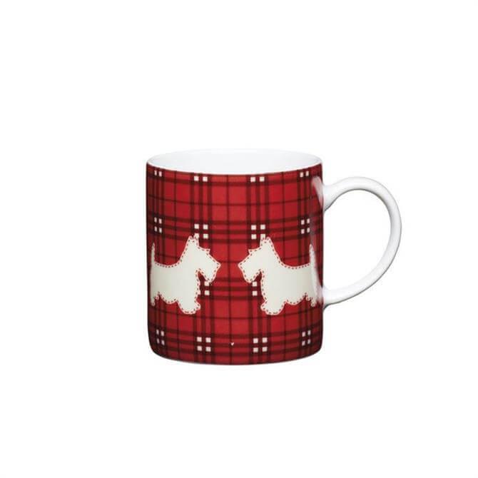 Kitchen Craft Porcelain Scottie Dog 80ml Espresso Cup