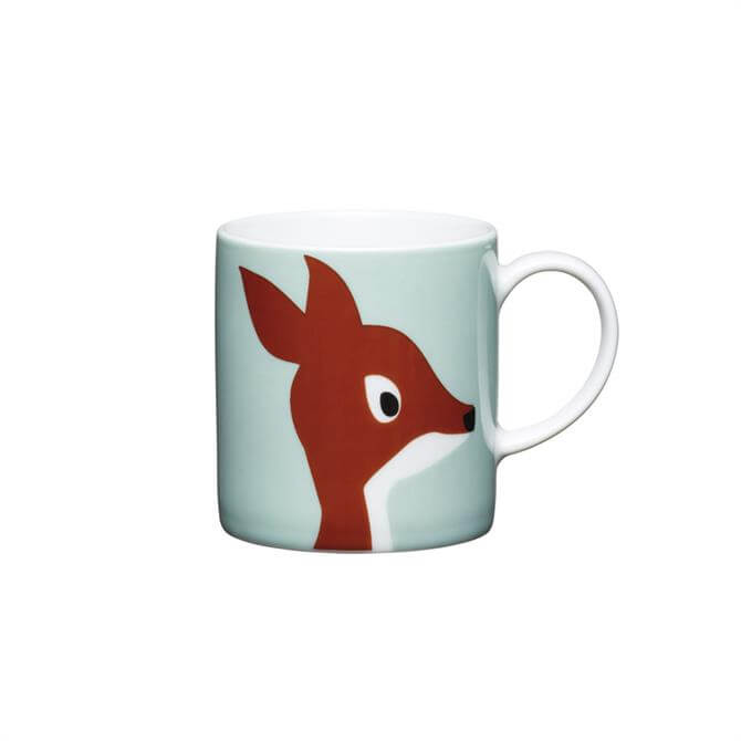 Kitchen Craft Porcelain Deer 80ml Espresso Cup